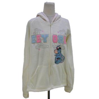 Ladies Disney Eeyore Full Zip Hooded Jacket