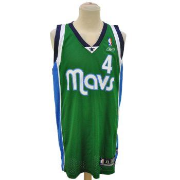Vintage Reebok NBA Mavs Finley # 4 Jersey