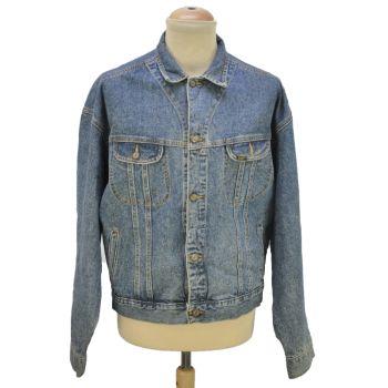 Vintage Mens Lee Pocket Denim Jacket