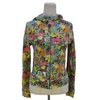 Ladies Disney All Over Print Full Zip Hooded Jacket