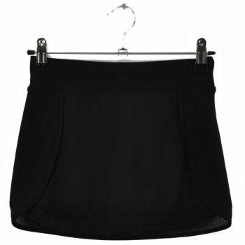 Girls Black Tennis Skirt